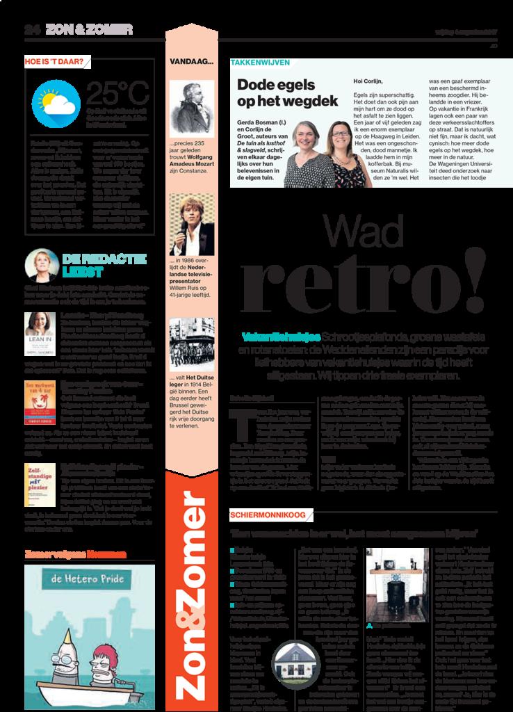 Zelfstandige mét Plezier in De redactie leest | Algemeen Dagblad